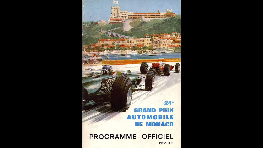 1966 - GP Monaco - F1-Programm - Cover