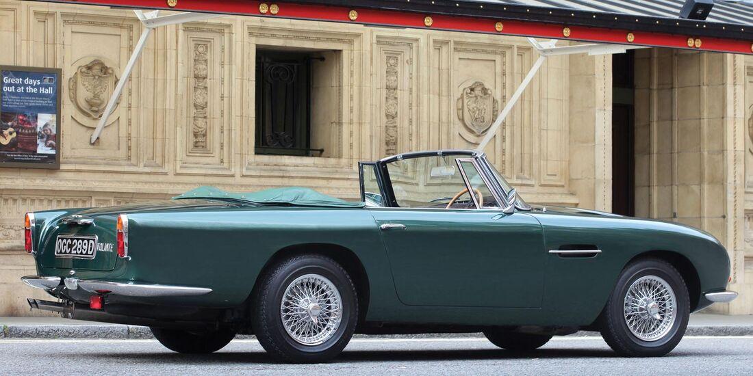 1966er Aston Martin 'Short-Chassis' Volante