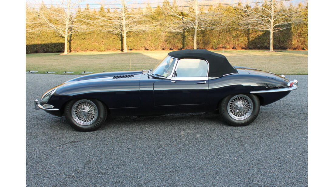 1966er Jaguar E-Type Series l 4.2-Liter Roadster