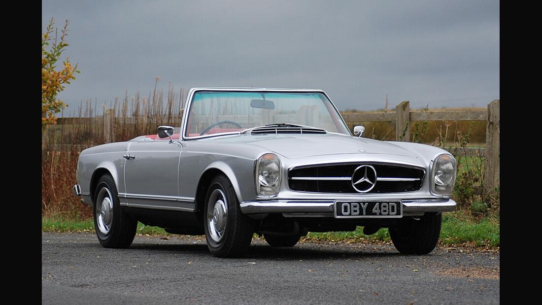 1966er Mercedes-Benz 230SL Convertible