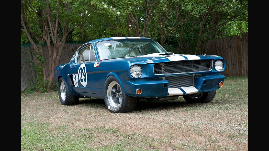 1966er Shelby Mustang GT350 SCCA B-Production Racing Car