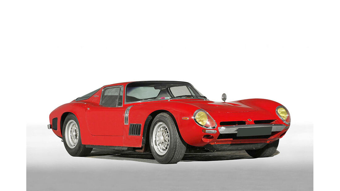 1967 Bizzarrini 5300 GT berlinerte Strada Aluminium