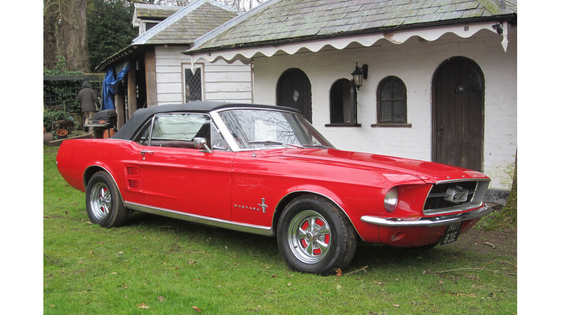 1967 Ford Mustang Cabriolet.