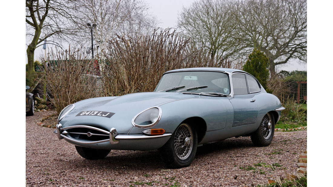1967 Jaguar E-Type Series 1 4.2-Liter Coupé.