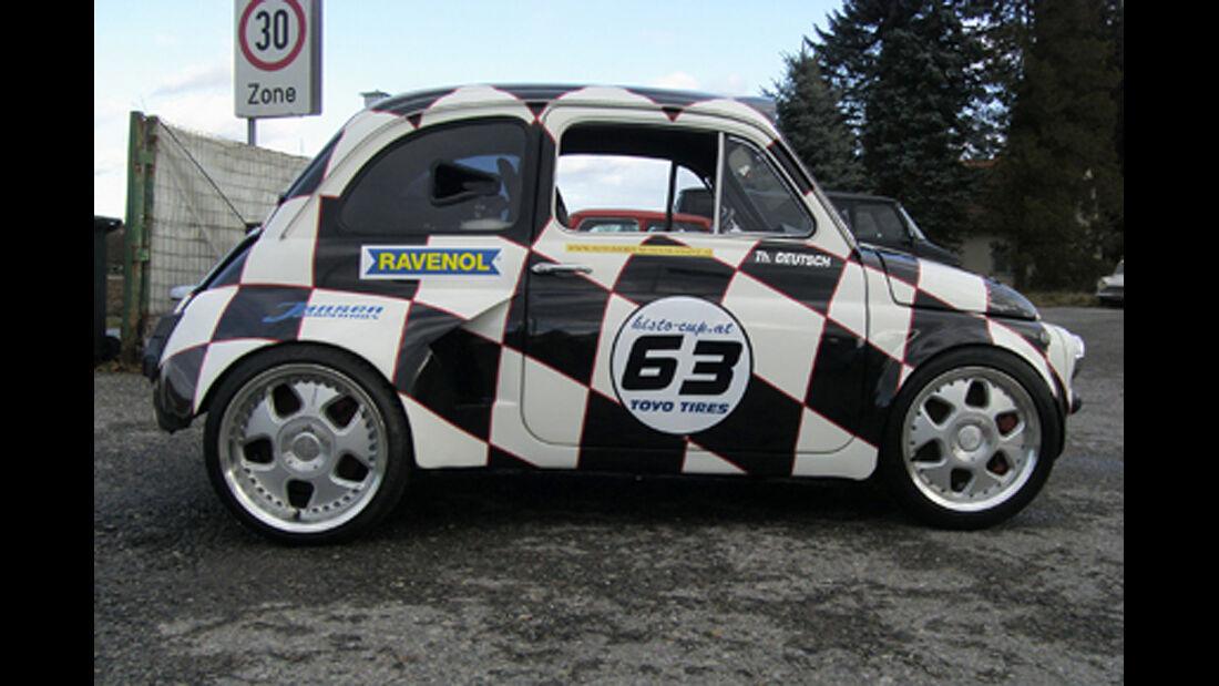 1967er Fiat 500 extrem