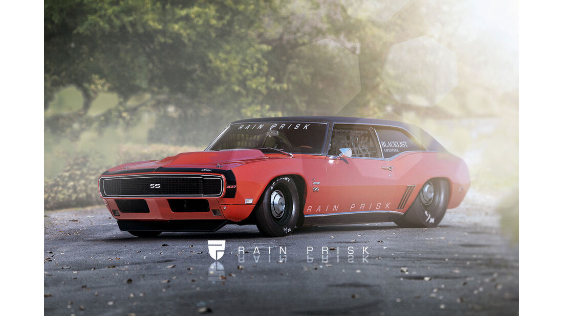 1968 Chevrolet Camaro Hatchback - Fantasie-Auto