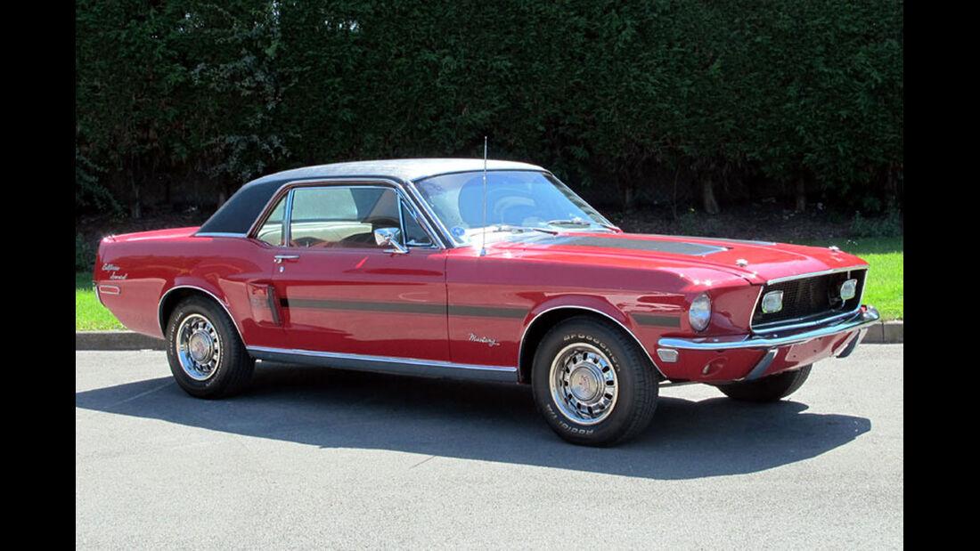 1968 Ford Mustang GT/CS 'California Special' Hardtop Coupé.