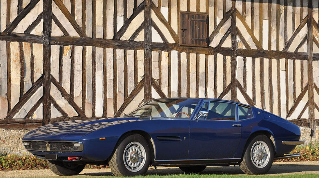 1968 Maserati Ghibli 4,7 Liter coupé