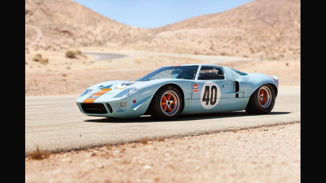 1968er Ford GT40 Gulf/Mirage Lightweight Racing Car