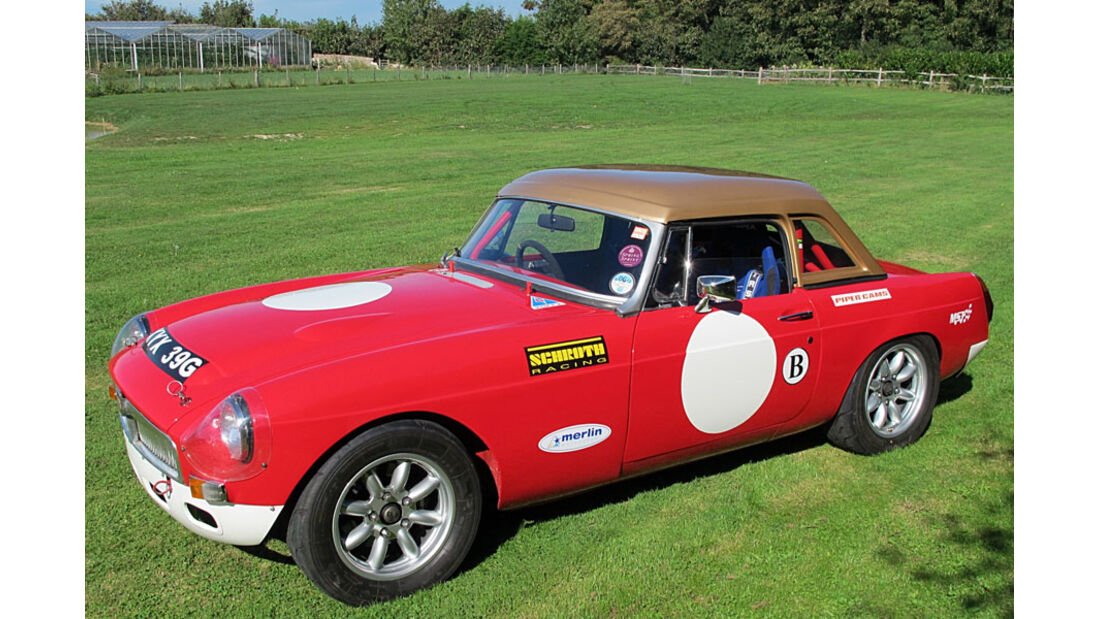 1968er MGC Competition Roadster
