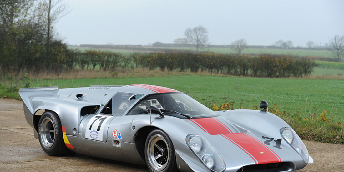 1969-70er Lola-Chevrolet T70GT Mk IIIB Endurance Racing Coupe