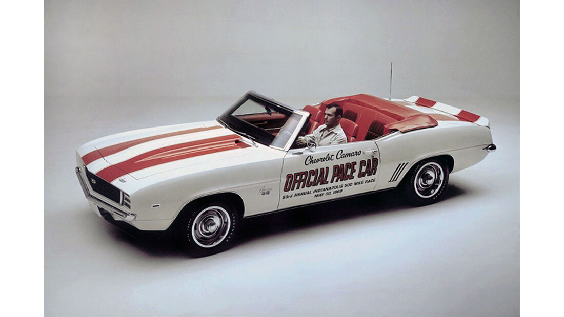 1969 Chevrolet Camaro SS Pace Car - Indy 500 - Muscle Car - Pony Car
