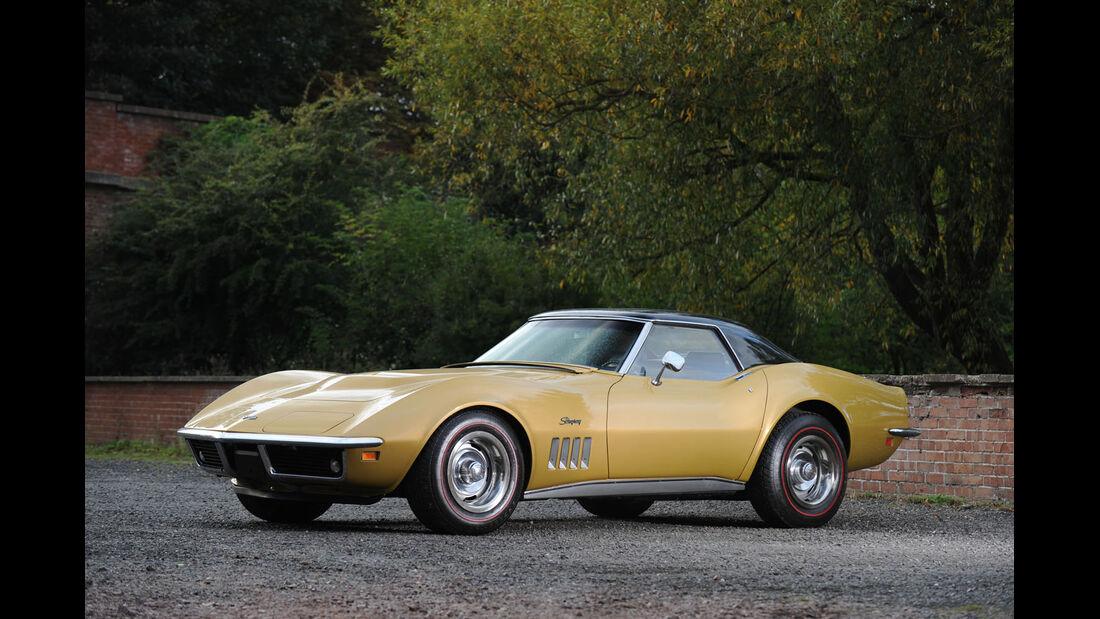 1969 Chevrolet Corvette Stingray Cabriolet.