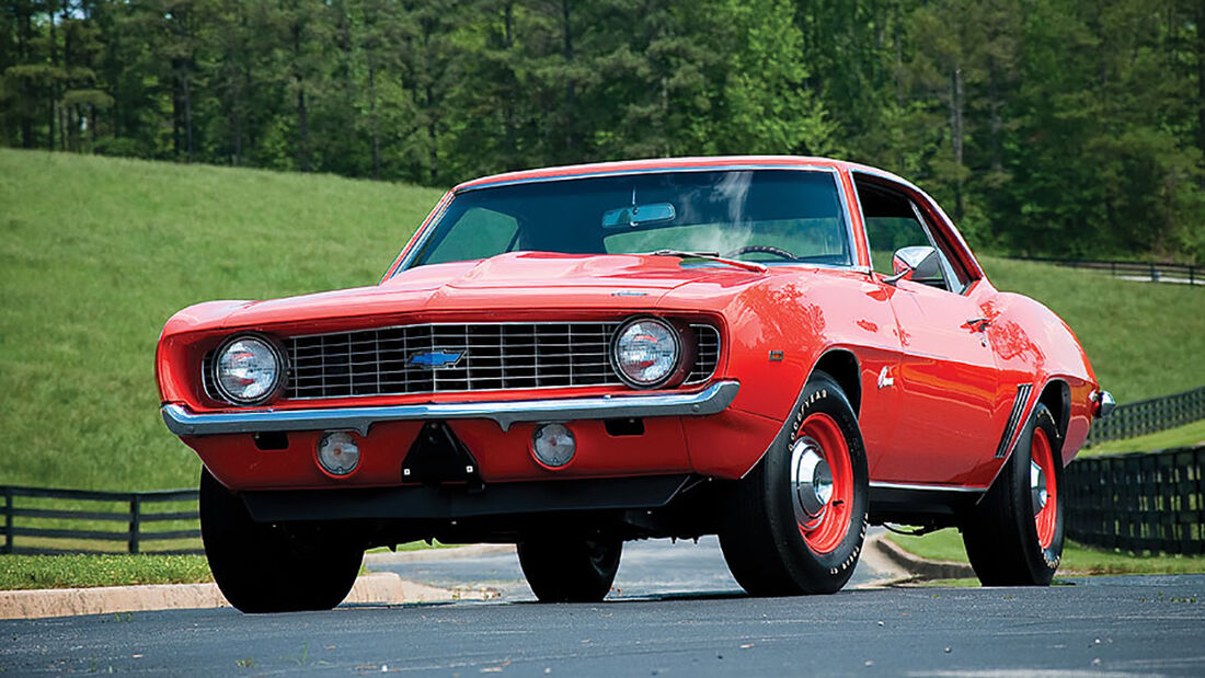 1969er Chevrolet Camaro ZL-1 Coupe (Four-Speed)