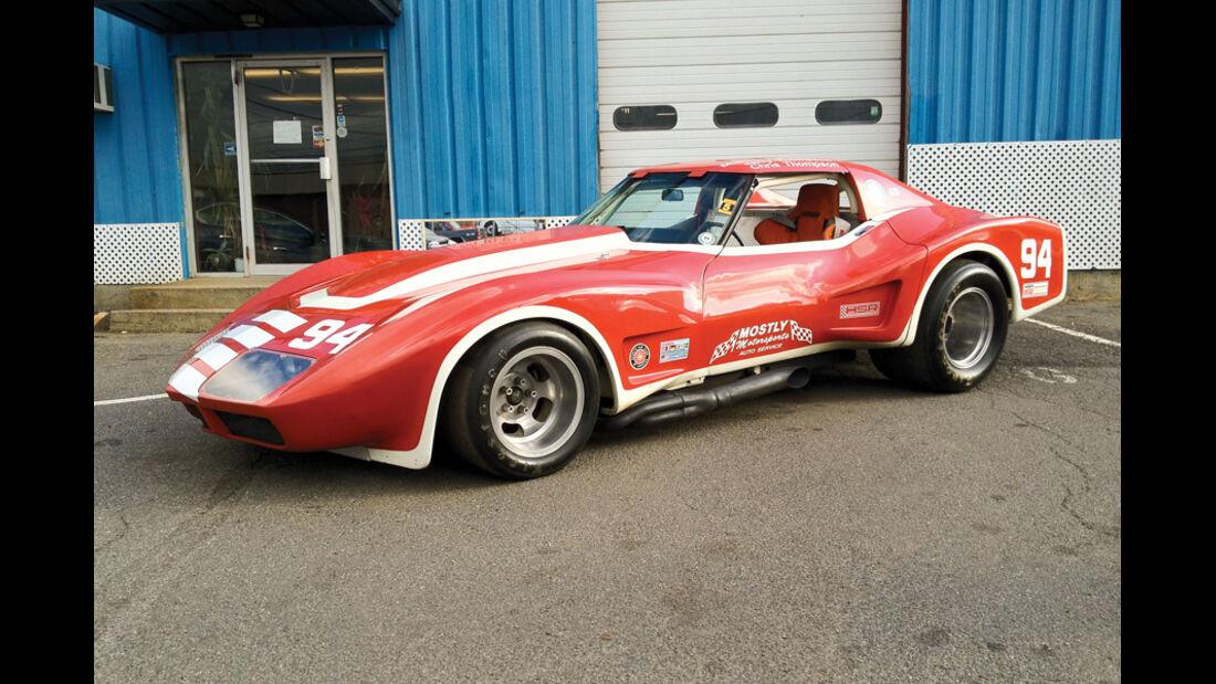 1969er Chevrolet Corvette Vintage Racing Car