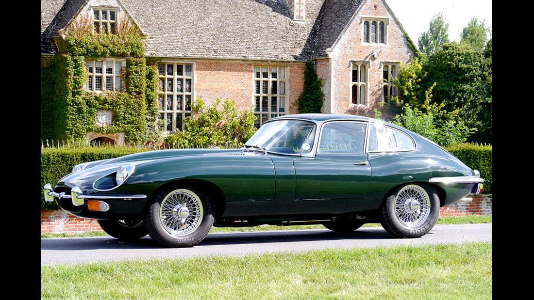 1969er Jaguar E-Type Series 2 Coupé