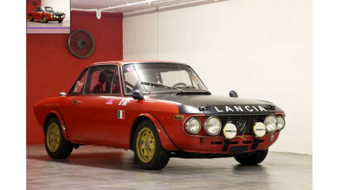 1969er Lancia Fulvia Coupe Ralley HF 1.6