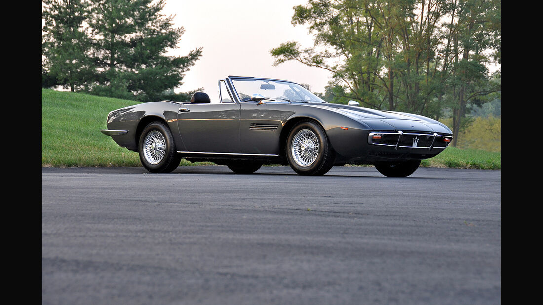 1969er Maserati Ghibli Spyder