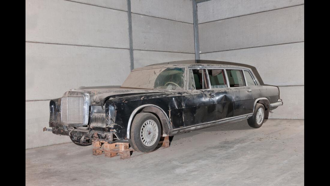 1969er Mercedes-Benz 600 Pullman Limousine