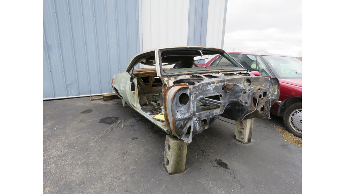 1969er Pontiac Firebird Body