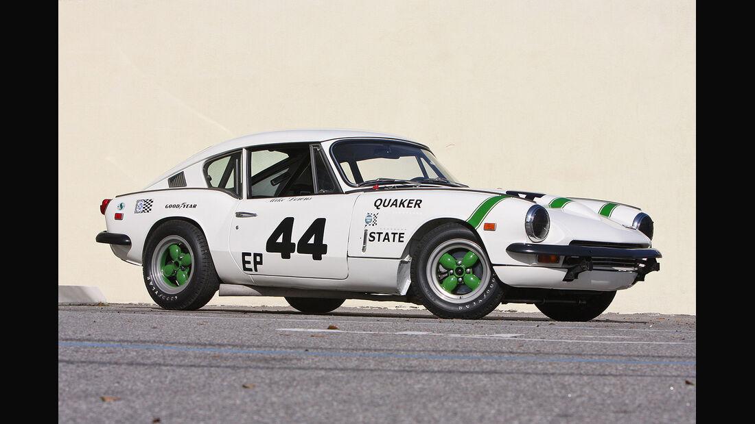 1969er Triumph GT6+ Group 44 Factory SCCA Racing Car