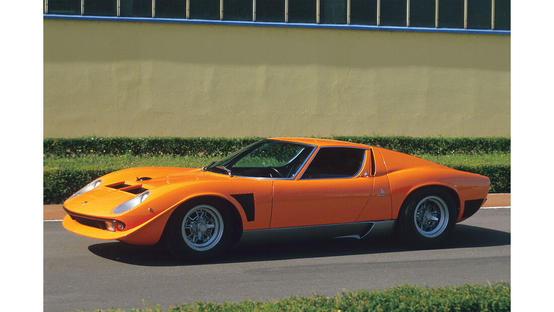 1970 Lamborghini Miura Jota