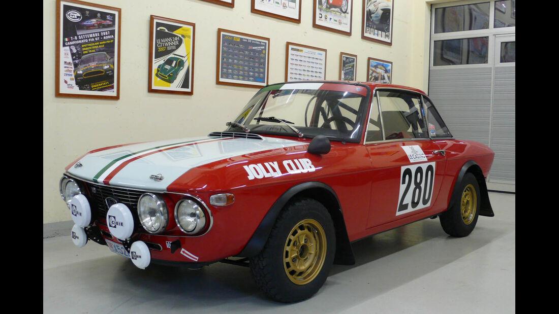 1970 Lancia Fulvia HF1600 Group 4 Rally Car