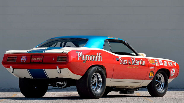 1970 Plymouth Hemi Cuda Sox & Martin Drag Car