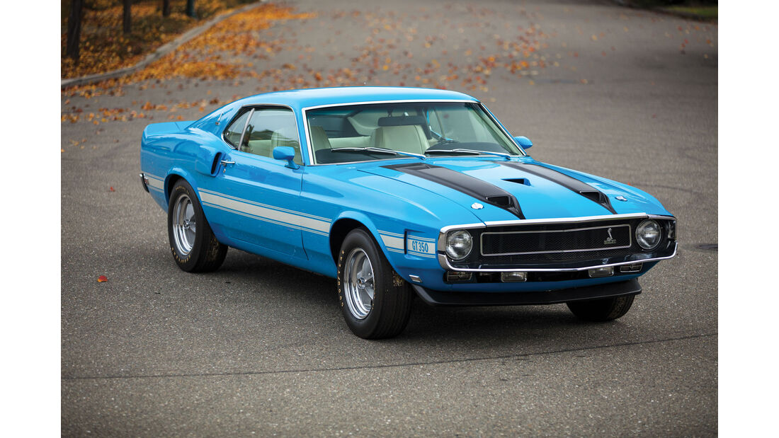 1970 Shelby GT350 Fastback - Muscle Car - RM Sotheby's Arizona 2017 - Auktion