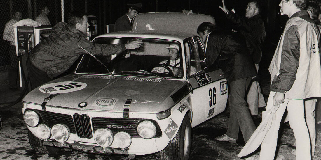 1970 Sieger 24h-Rennen Nürburgring Stuck BMW 2002 ti