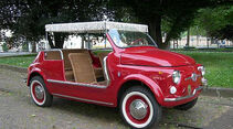 1970er FIAT 500 Jolly Beach Car Replica