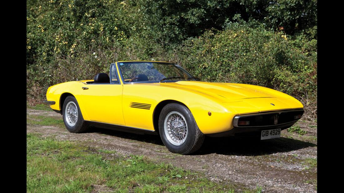 1970er Maserati Ghibli 4.9 SS Spyder