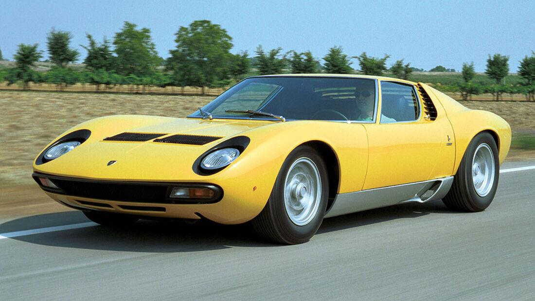 1971-1972 Lamborghini Miura SV