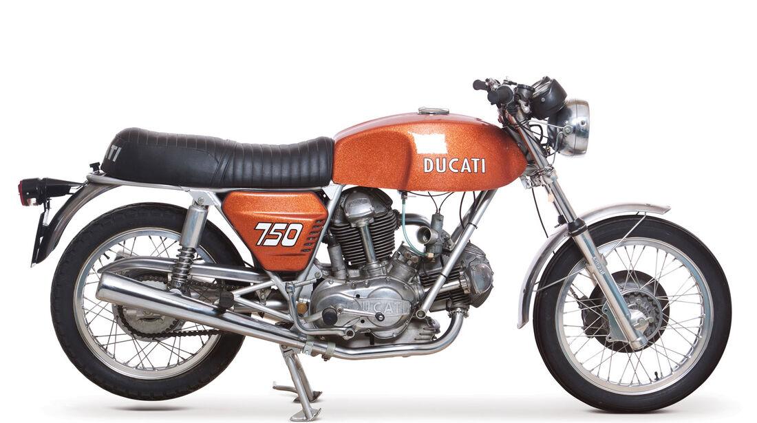 1971 Ducati 750GT RM Auctions Monaco 2012