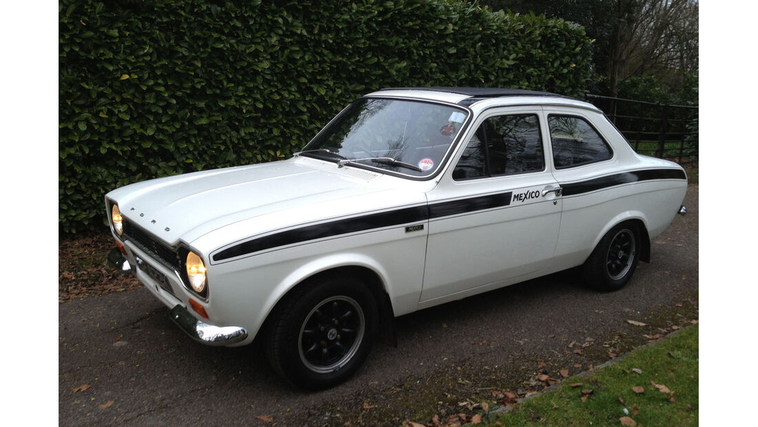 1971 Ford Escort RS1600 Mexico Sports.