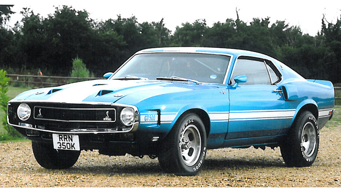1971 Ford Mustang Shelby GT500 Coupe