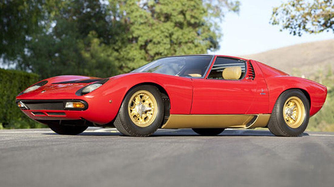 1971 Lamborghini Miura P400 SV