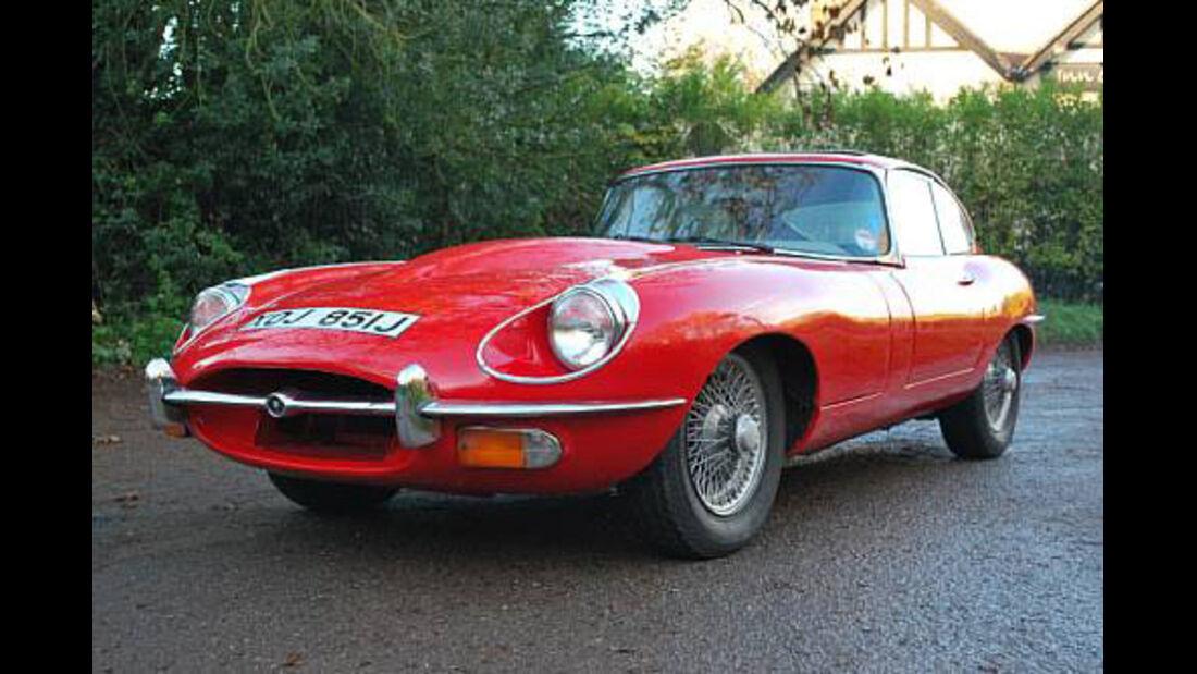 1971er Jaguar E-Type 4.2-Litre Series 2 Coupé