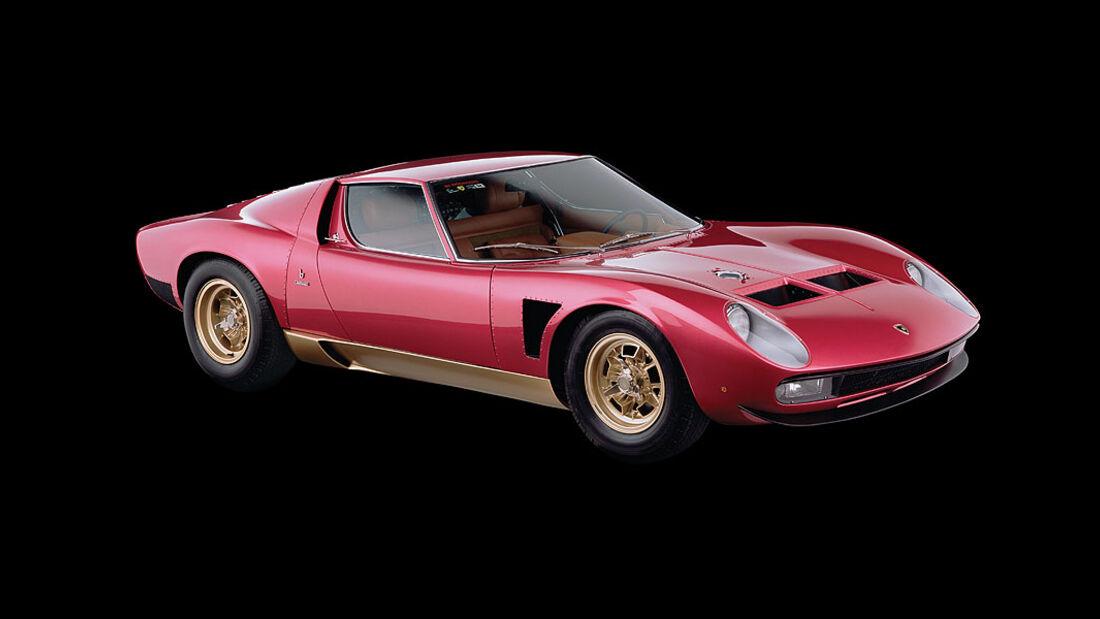 1971er Lamborghini Miura SVJ