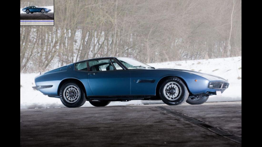 1971er Maserati Ghilbi 4.9L SS