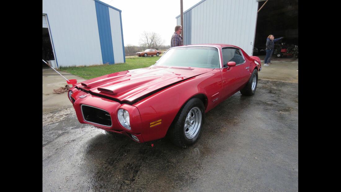 1971er Pontiac Formula Firebird