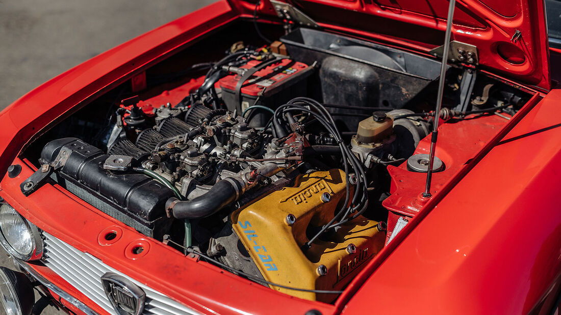 1972 Lancia Fulvia Coupe 1600 HF Series 2