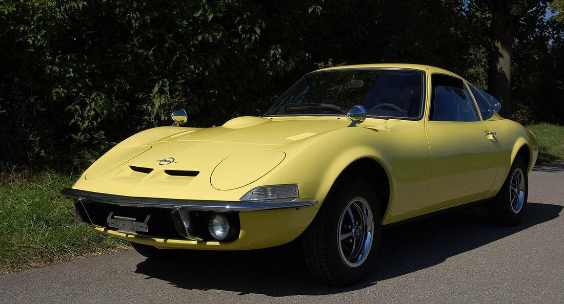 1972 Opel GT 1900