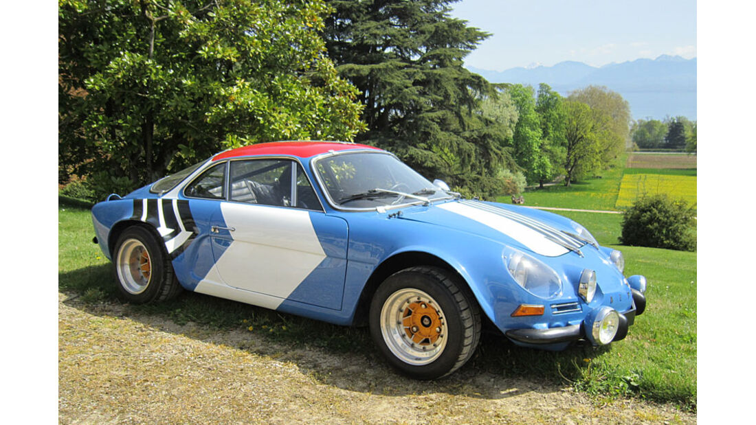 1972er Alpine A110 1600S 'Group IV' Specification Coupé
