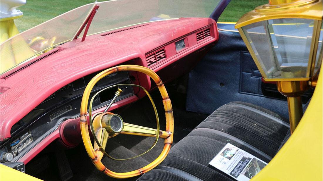 1972er Cadillac Custom Wagon The Pirate Surf Mobile