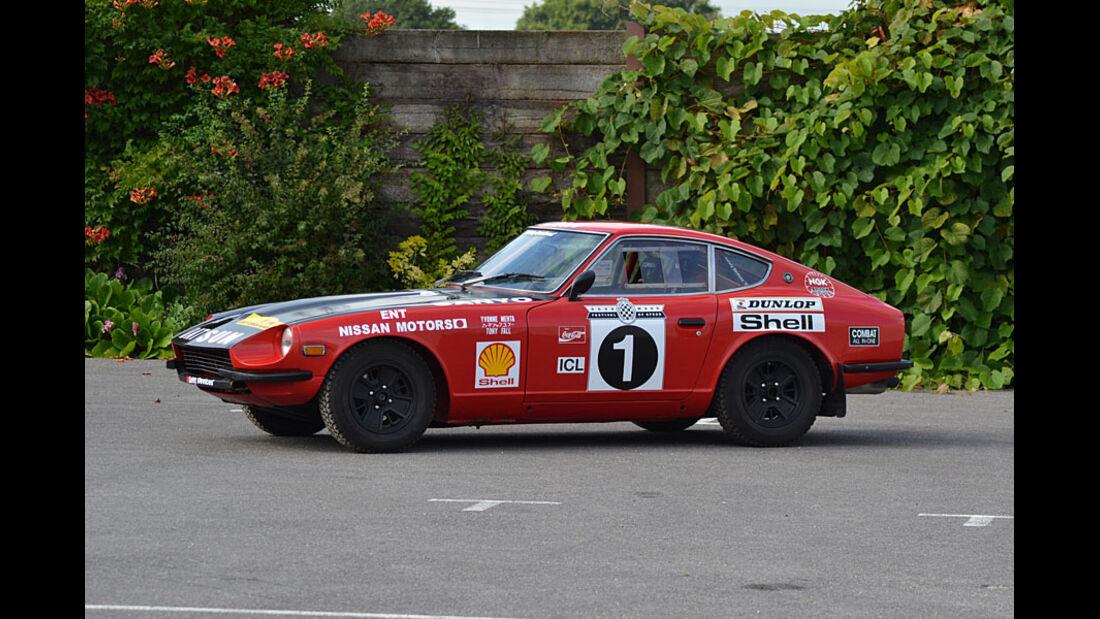 1972er Datsun 240Z Historic Rally Car