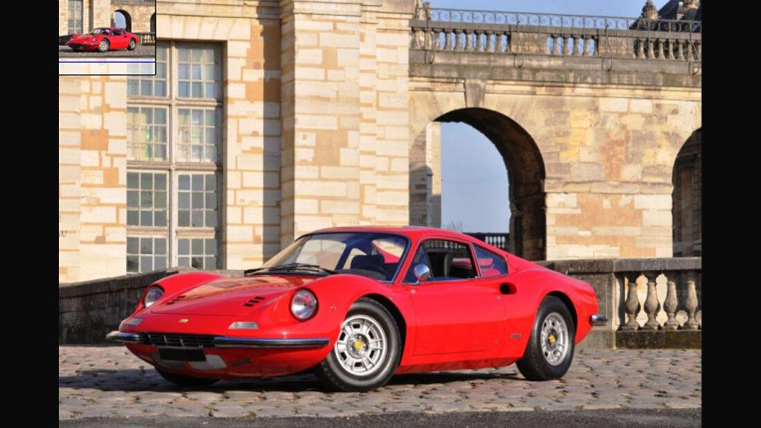 1972er Dino 246 GT Berlinette