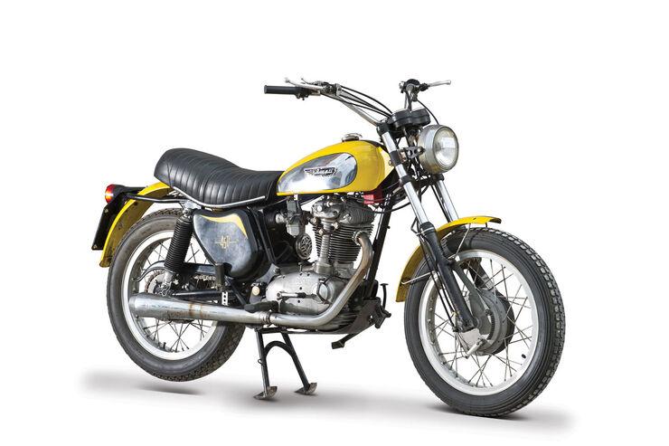 1973 Ducati 450 Scrambler RM Auctions Monaco 2012