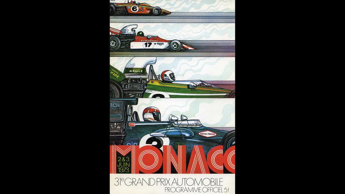 1973 - GP Monaco - F1-Programm - Cover