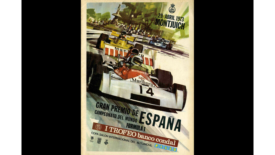 1973 - GP Spanien - F1-Programm - Cover